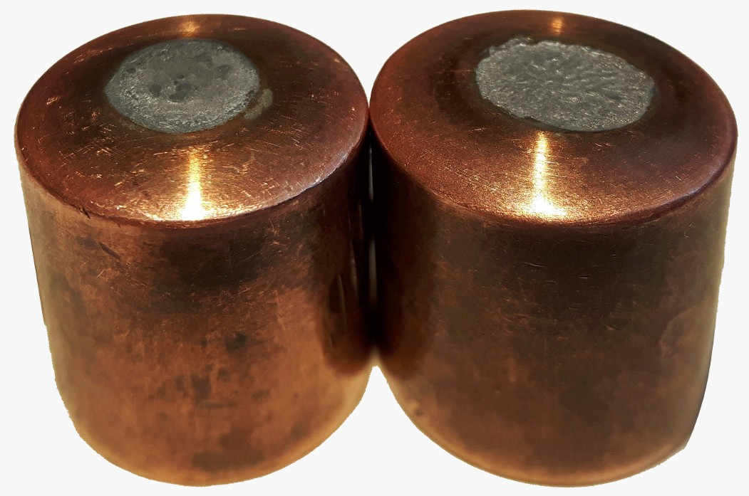 Elma-Tech electrode caps from the aluminium spot welding process.