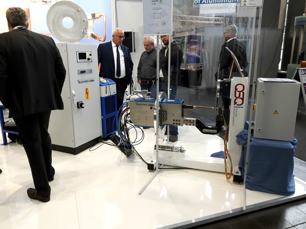 ELMA-Tech at the EuroBlech 2018.