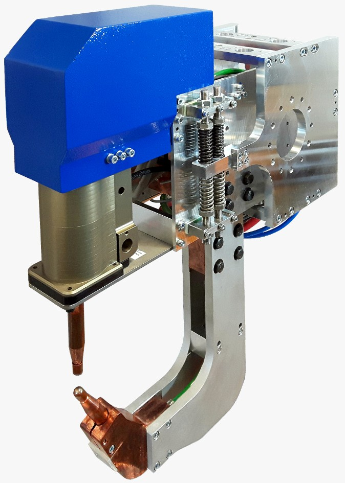 ELMA-Tech spot welding gun with special design for industrial application.