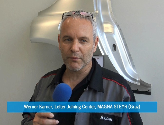 Werner Karner, Head of Joining Center at MAGNA Steyr (Graz / Austria)