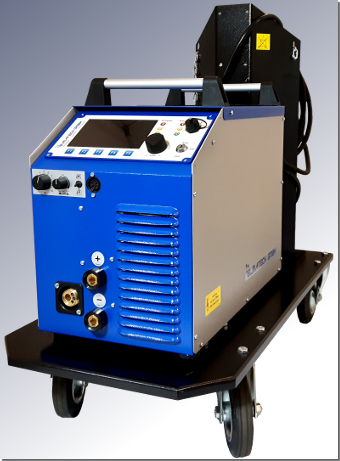 MIDI MIG 300/800 DC W by ELMA-Tech GmbH: Gas-cooled pulse current Arc welding machine.