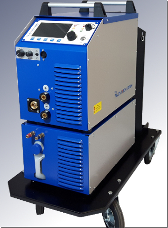 MIDI MIG 300/800 DC W by ELMA-Tech GmbH: Water-cooled pulse current Arc welding machine.