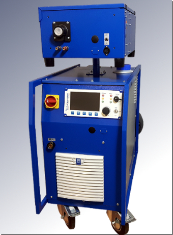 Pulse welding system VARIO MIG 4003 DC with wire feed device DV 14 by ELMA-Tech GmbH